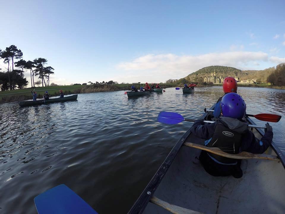 Margam Park Canoeing