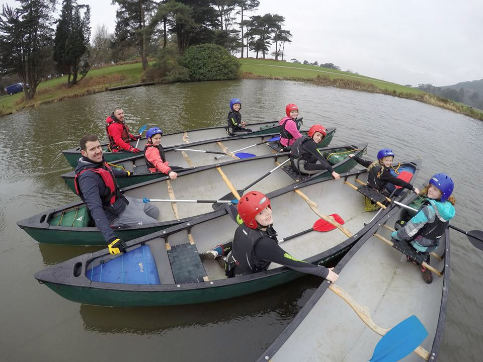 Margam Park Kayaking