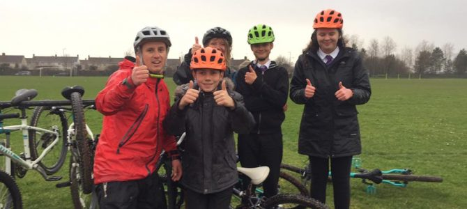 MTB Skills session with Ysgol Bae Baglan