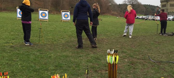 Archery and Canoeing with Waunceirch Primary School