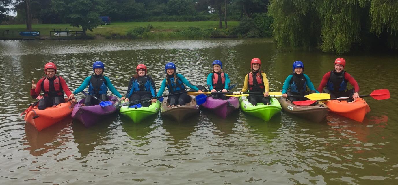 Margam Park Adventure Canoeing