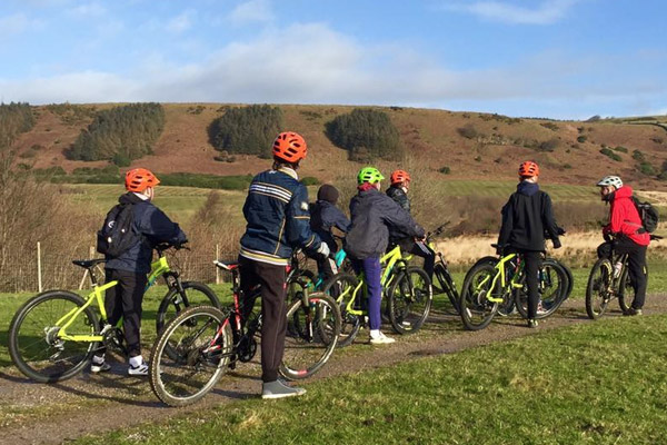 Mountain Biking at Margam Park Adventure