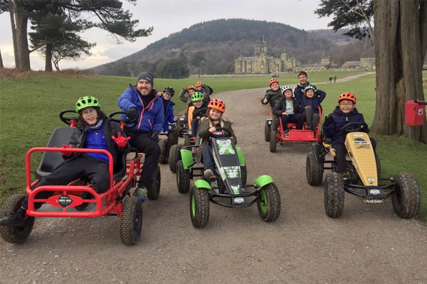 Go Kart Safari at Margam Park Adventure