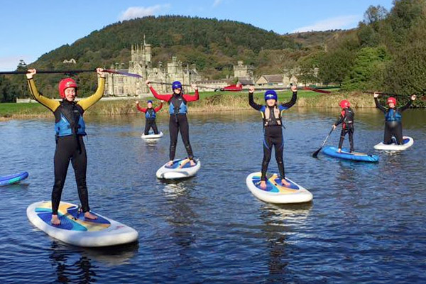 Margam Park Adventure Paddle Boarding
