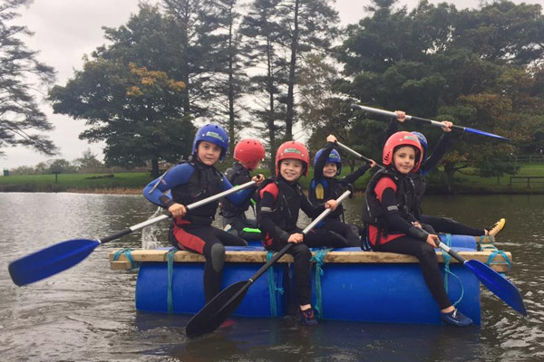 Margam Park Raft Building