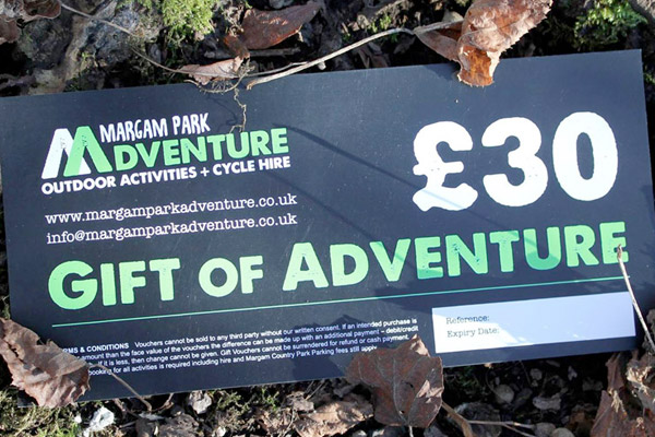 Margam Park Adventure Gift Vouchers