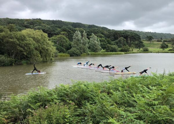 SUP Yoga at Margam Park