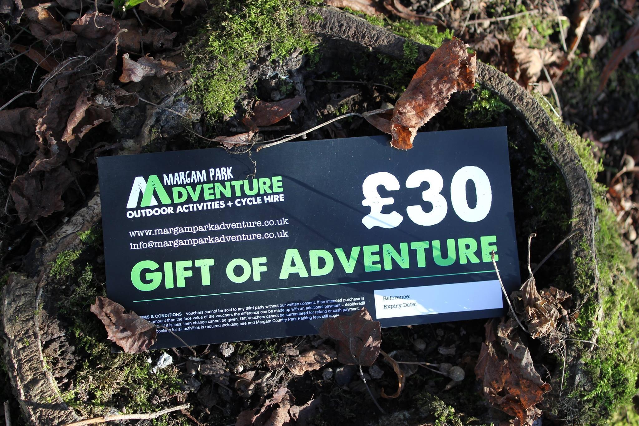 Margam Park Adventure Gift Voucher