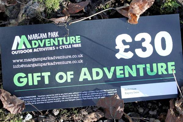 Margam Park Adventure Gift Vouchers